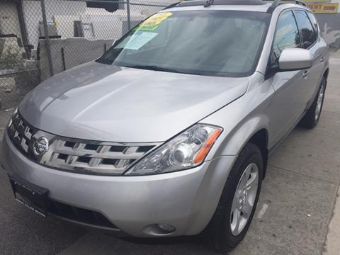 2005 Nissan Murano for sale in Middle Village NY