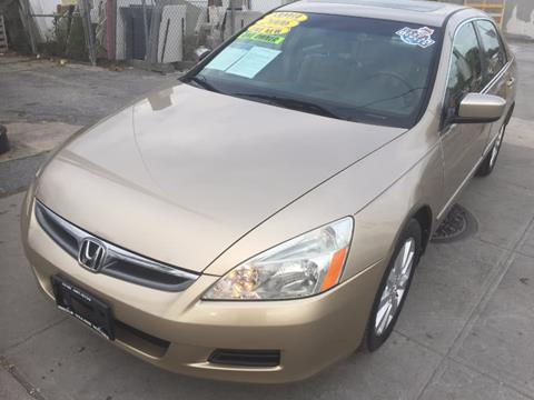2006 Honda Accord for sale in Middle Village, NY