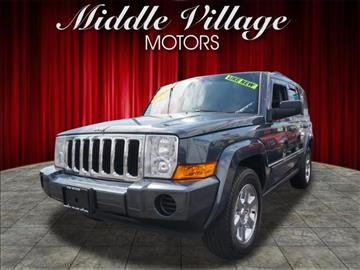2007 Jeep Commander for sale at Middle Village Motors in Middle Village NY