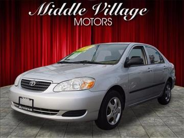2006 Toyota Corolla for sale at Middle Village Motors in Middle Village NY