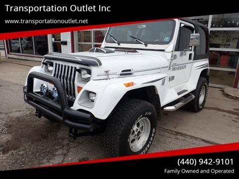 1993 Jeep Wrangler for sale in Eastlake, OH