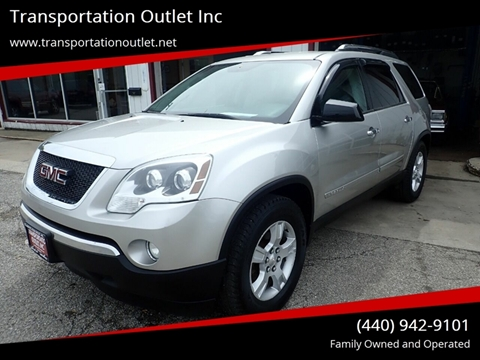 2007 GMC Acadia for sale in Eastlake, OH