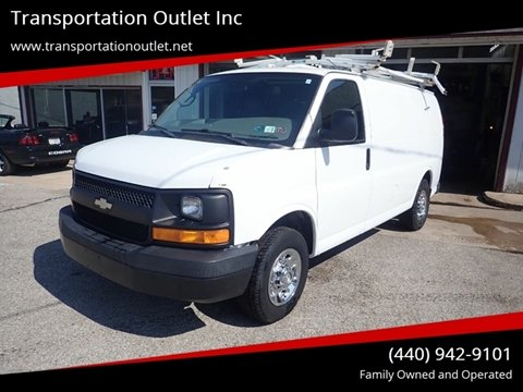 2008 Chevrolet Express Cargo for sale in Eastlake, OH