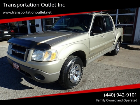 2001 Ford Explorer Sport Trac for sale in Eastlake, OH