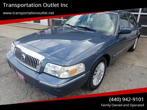 2008 Mercury Grand Marquis for sale in Eastlake, OH