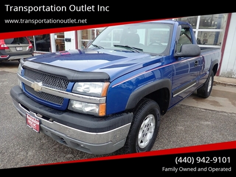 2004 Chevrolet Silverado 1500 Z71 for sale at Transportation Outlet Inc in Eastlake OH