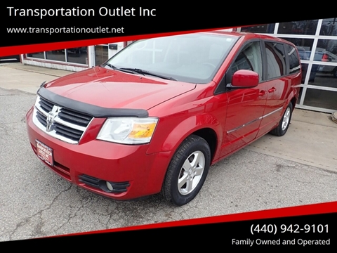 2008 Dodge Grand Caravan SXT for sale at Transportation Outlet Inc in Eastlake OH