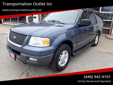 2003 Ford Expedition XLT for sale at Transportation Outlet Inc in Eastlake OH