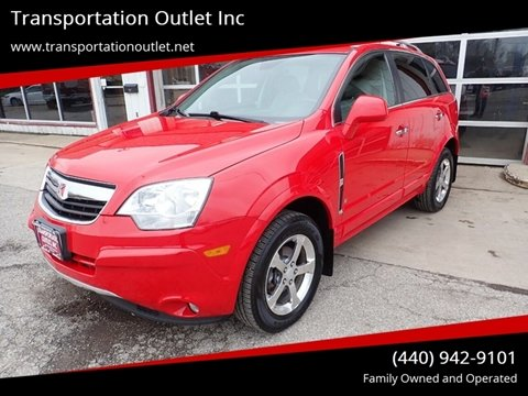 2009 Saturn Vue XR for sale at Transportation Outlet Inc in Eastlake OH