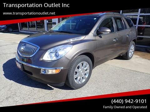 2012 Buick Enclave Leather for sale at Transportation Outlet Inc in Eastlake OH