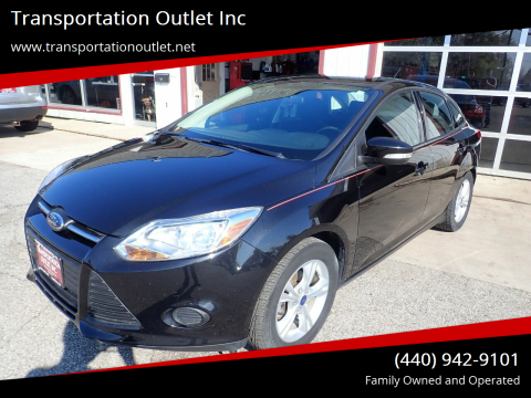 2014 Ford Focus for sale at Transportation Outlet Inc in Eastlake OH
