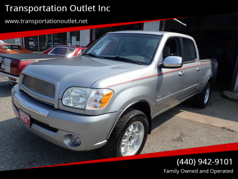2006 Toyota Tundra for sale at Transportation Outlet Inc in Eastlake OH