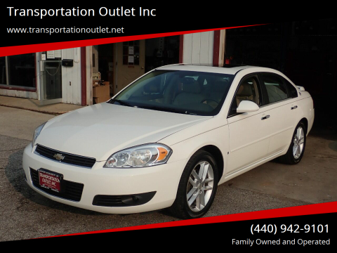 2008 Chevrolet Impala for sale at Transportation Outlet Inc in Eastlake OH