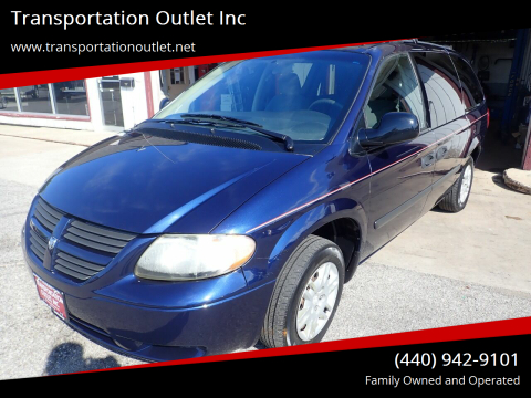 2006 Dodge Grand Caravan for sale at Transportation Outlet Inc in Eastlake OH