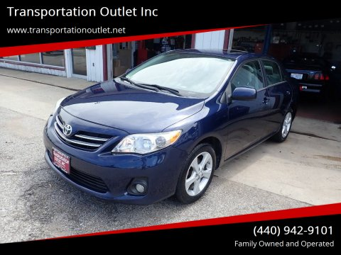 2013 Toyota Corolla for sale at Transportation Outlet Inc in Eastlake OH