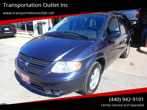 2007 Dodge Grand Caravan for sale at Transportation Outlet Inc in Eastlake OH
