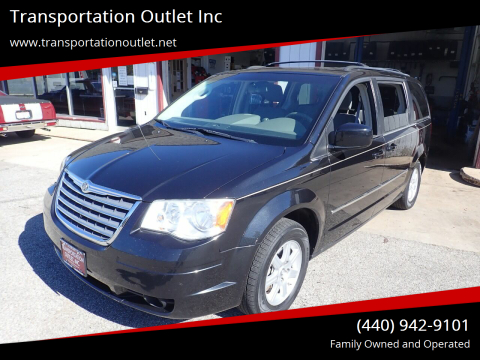 2010 Chrysler Town and Country for sale at Transportation Outlet Inc in Eastlake OH