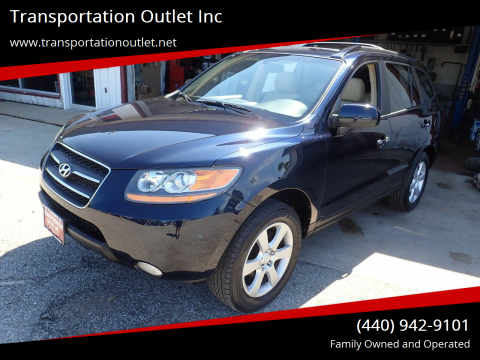 2009 Hyundai Santa Fe for sale at Transportation Outlet Inc in Eastlake OH