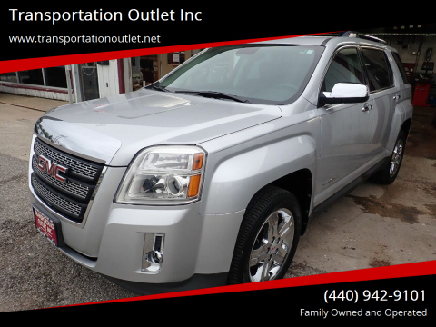 2012 GMC Terrain for sale at Transportation Outlet Inc in Eastlake OH