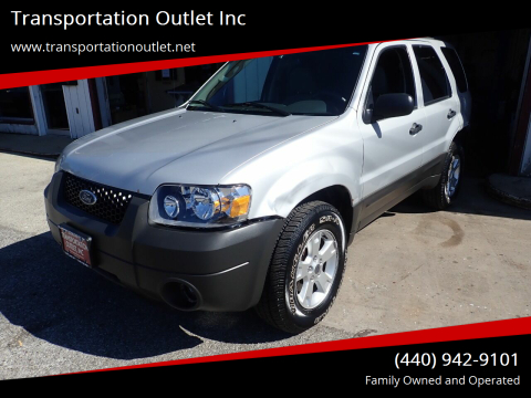2006 Ford Escape for sale at Transportation Outlet Inc in Eastlake OH