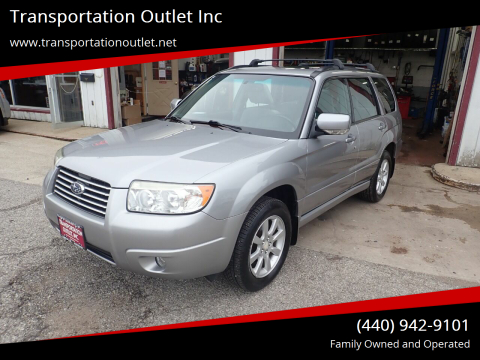 2008 Subaru Forester for sale at Transportation Outlet Inc in Eastlake OH