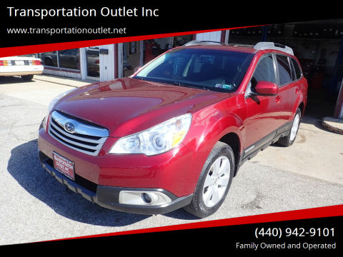 2012 Subaru Outback for sale at Transportation Outlet Inc in Eastlake OH
