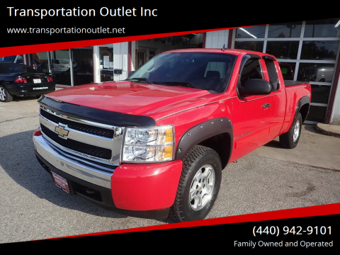 2007 Chevrolet Silverado 1500 for sale at Transportation Outlet Inc in Eastlake OH