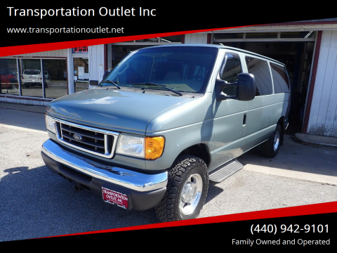 2006 Ford E-Series Wagon for sale at Transportation Outlet Inc in Eastlake OH