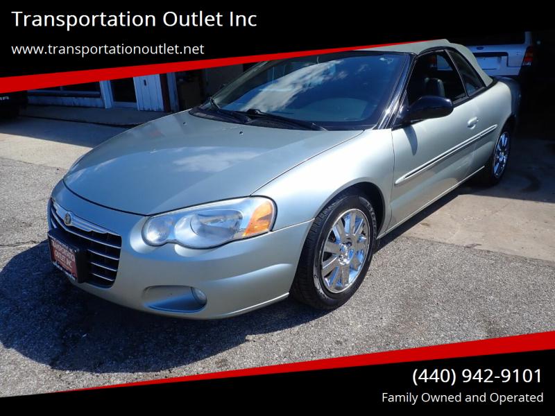 2004 Chrysler Sebring for sale at Transportation Outlet Inc in Eastlake OH