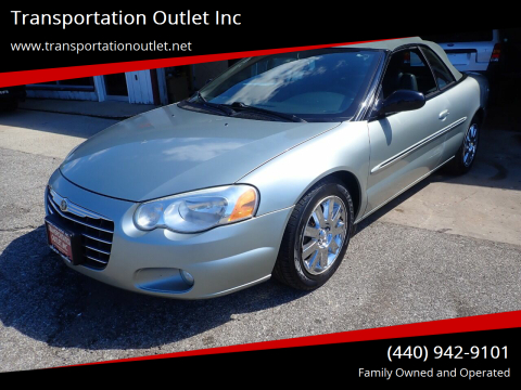 2004 Chrysler Sebring for sale at Transportation Outlet Inc in Eastlake OH