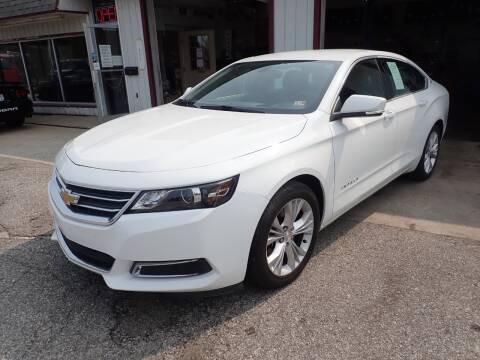 2015 Chevrolet Impala for sale at Transportation Outlet Inc in Eastlake OH