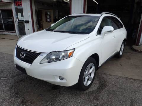 2010 Lexus RX 350 for sale at Transportation Outlet Inc in Eastlake OH