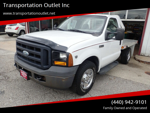2006 Ford F-350 Super Duty for sale at Transportation Outlet Inc in Eastlake OH