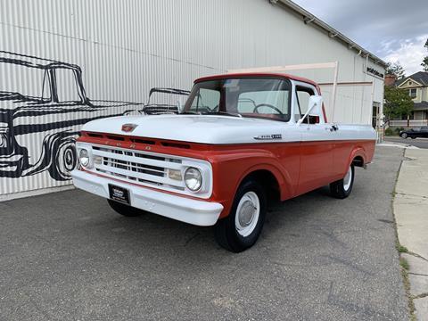 1962 Ford F-100 for sale in Pleasanton, CA