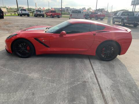 2014 Chevrolet Corvette for sale at Texas Truck Sales in Dickinson TX