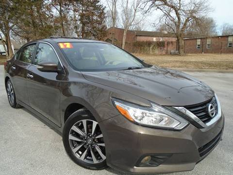 2017 Nissan Altima for sale at Sunshine Auto Sales in Kansas City MO