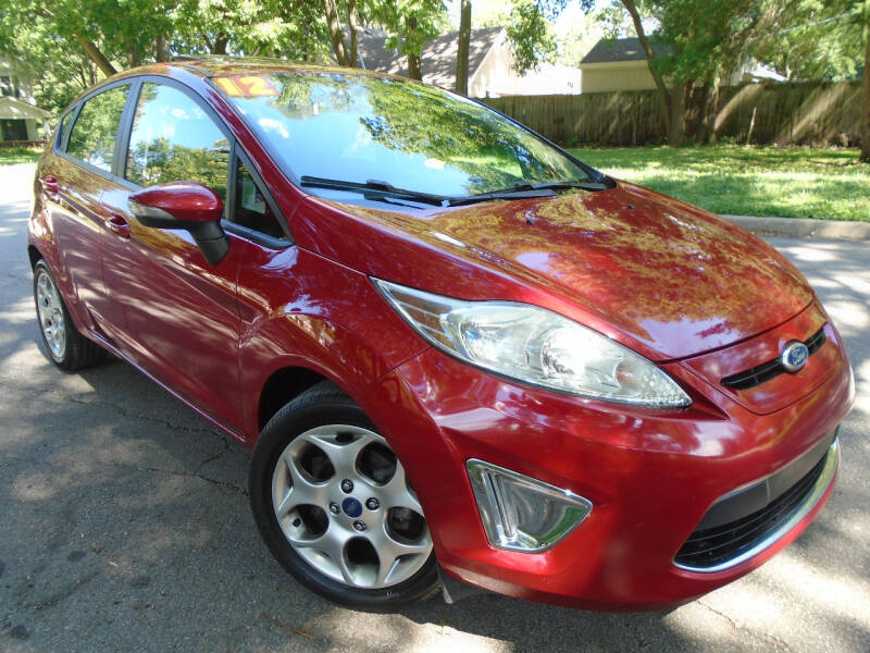 2012 Ford Fiesta for sale at Sunshine Auto Sales in Kansas City MO