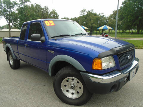 2003 Ford Ranger for sale at Sunshine Auto Sales in Kansas City MO