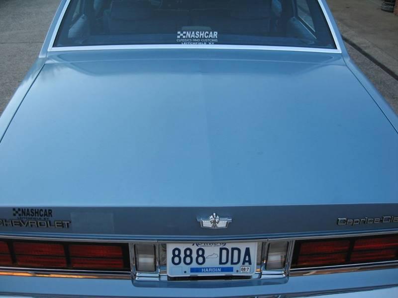 1990 Chevrolet Caprice Classic 4dr Sedan - Leitchfield KY
