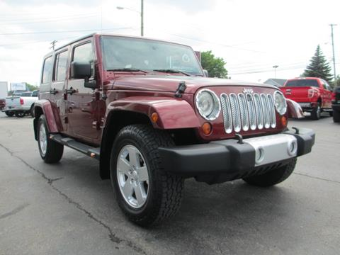 2010 jeep wrangler unlimited for sale in michigan. Black Bedroom Furniture Sets. Home Design Ideas