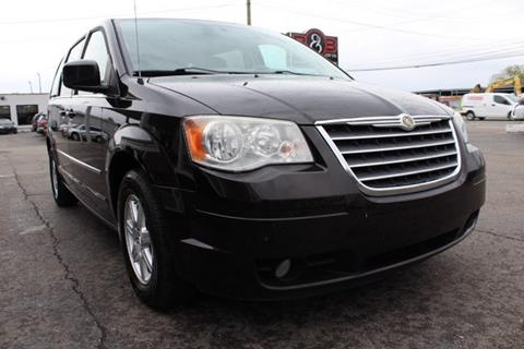 2010 chrysler town and country for sale at b & b car co inc  in