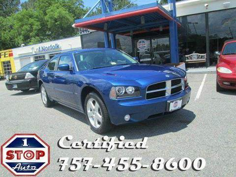 2010 Dodge Charger for sale at 1 Stop Auto in Norfolk VA