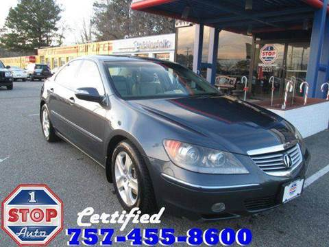 2006 Acura RL for sale at 1 Stop Auto in Norfolk VA