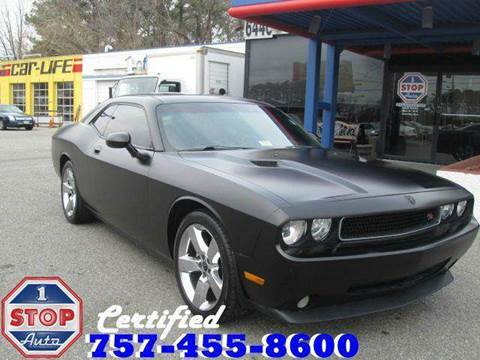 2009 Dodge Challenger for sale at 1 Stop Auto in Norfolk VA