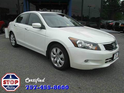 2008 Honda Accord for sale at 1 Stop Auto in Norfolk VA