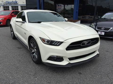 2015 Ford Mustang for sale at 1 Stop Auto in Norfolk VA