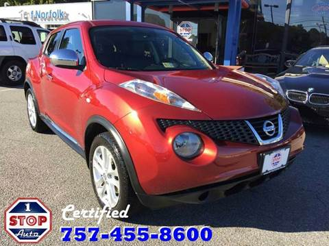 2012 Nissan JUKE for sale at 1 Stop Auto in Norfolk VA
