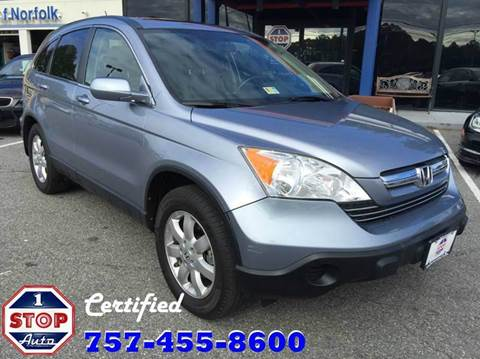 2008 Honda CR-V for sale at 1 Stop Auto in Norfolk VA