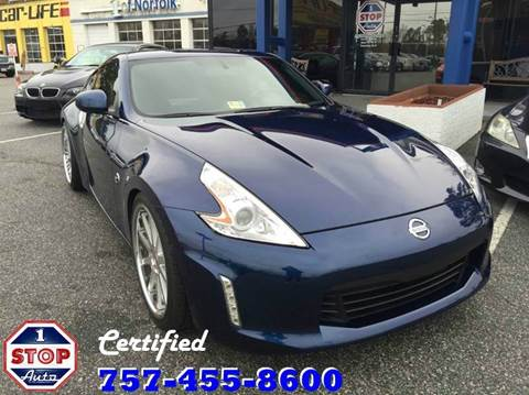 2013 Nissan 370Z for sale at 1 Stop Auto in Norfolk VA