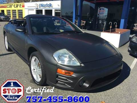 2005 Mitsubishi Eclipse Spyder for sale at 1 Stop Auto in Norfolk VA